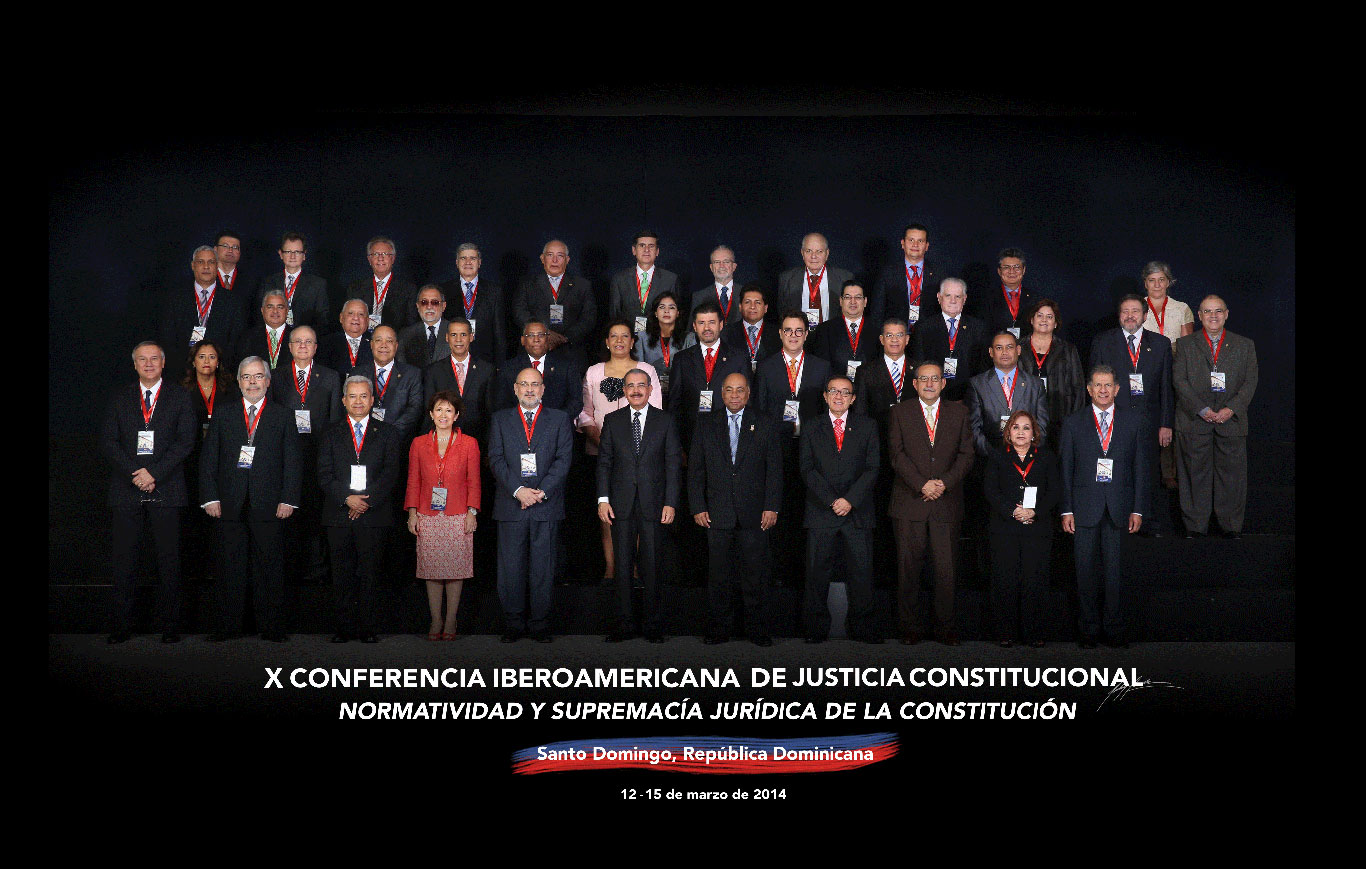 Imagen de Presidente Medina Encabeza Ceremonia Inaugural de la X Conferencia Iberoamericana de Justicia Constitucional