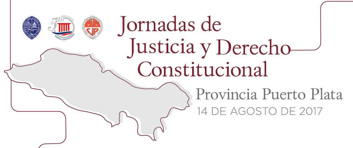 Imagen de Jornada de Justicia y Derecho Constitucional, provincia Puerto Plata.