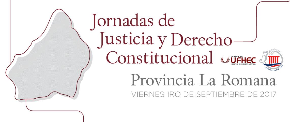 Imagen de Jornada de Justicia y Derecho Constitucional, provincia La Romana
