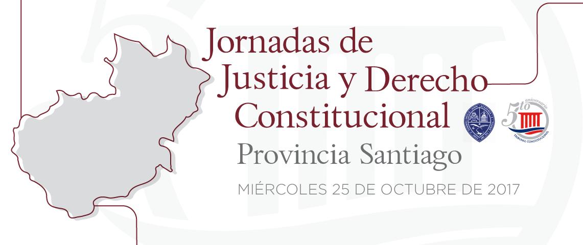 Imagen de Jornada de Justicia y Derecho Constitucional, provincia Santiago