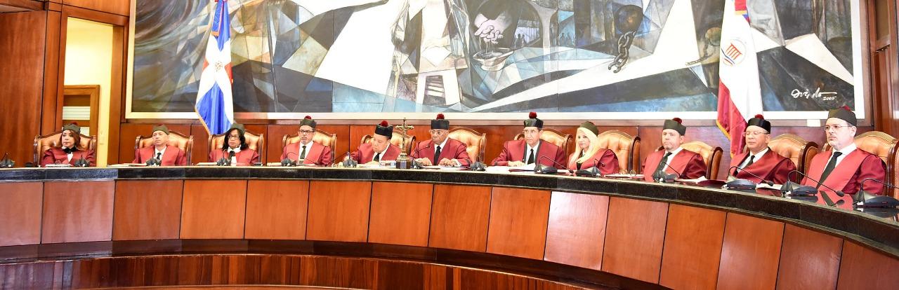 Fotografía de los Jueces del Tribunal Constitucional de la República Dominicana