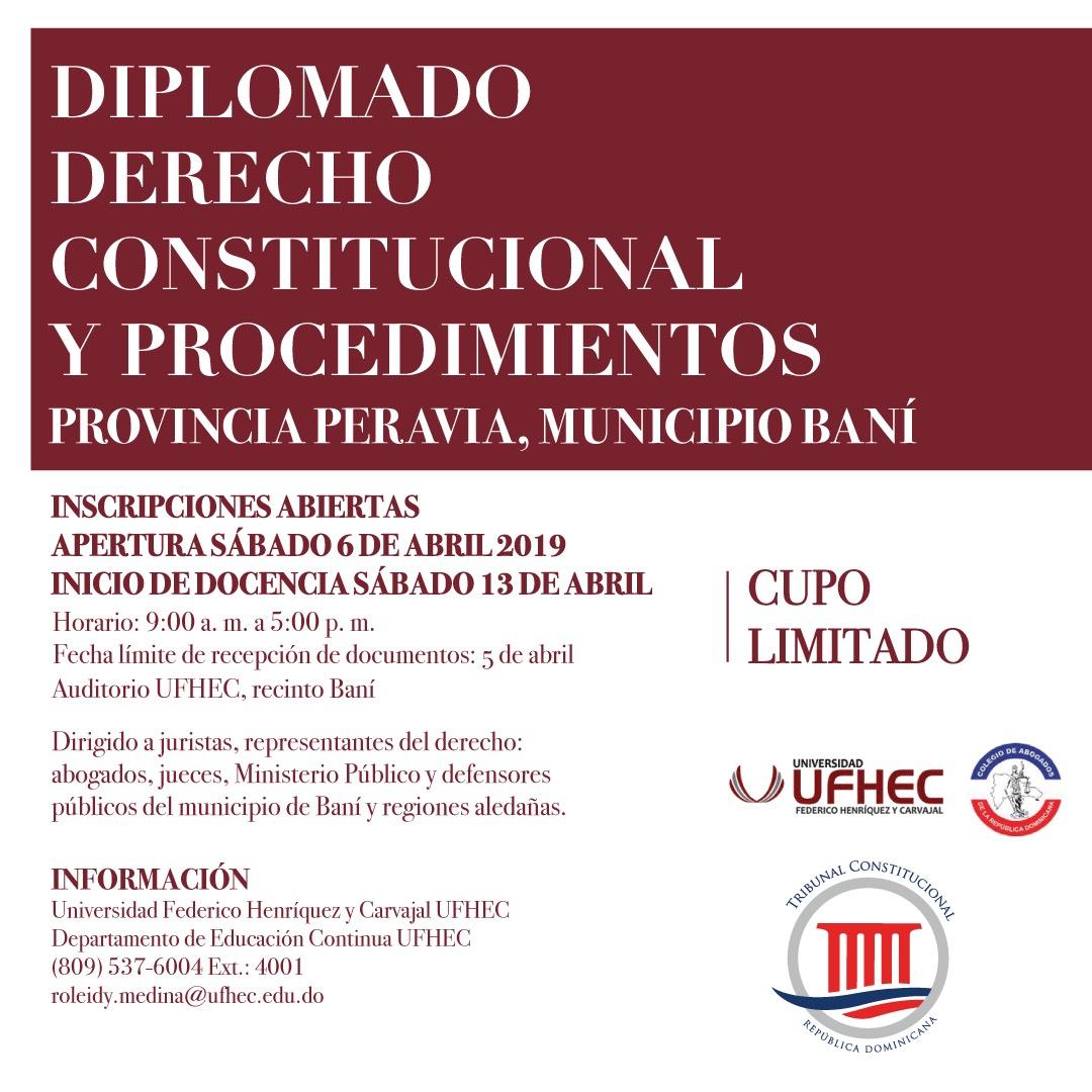 Imagen de Diplomado en Derecho Constitucional y Procedimientos