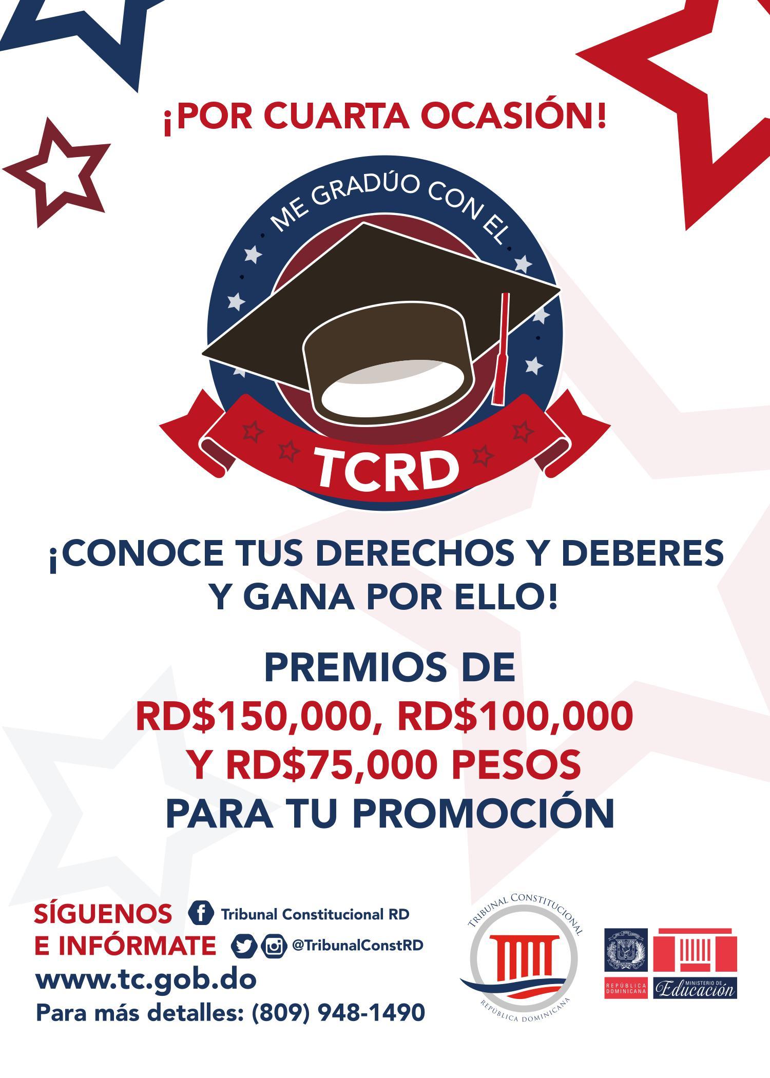 """Imagen de Lanzamiento de la 4ta versión del concurso """"Me gradúo con el TC"""""""