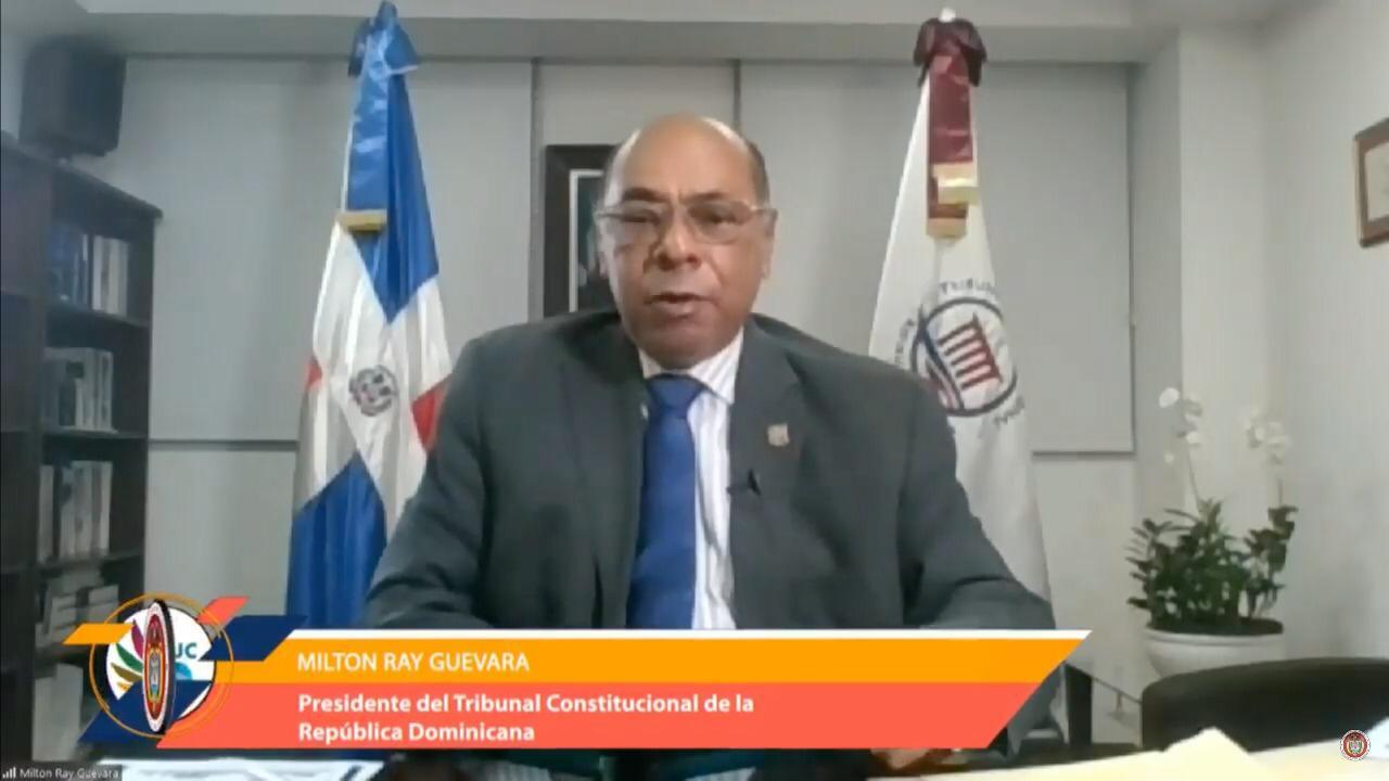 Presidente TC sostie