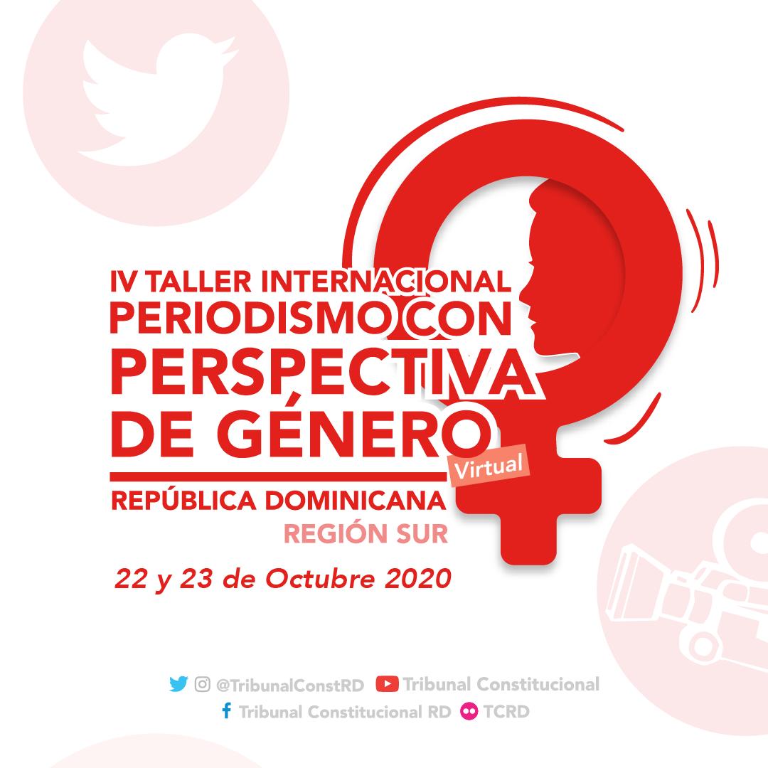 Imagen de IV Taller Internacional Periodismo con Perspectiva de Género