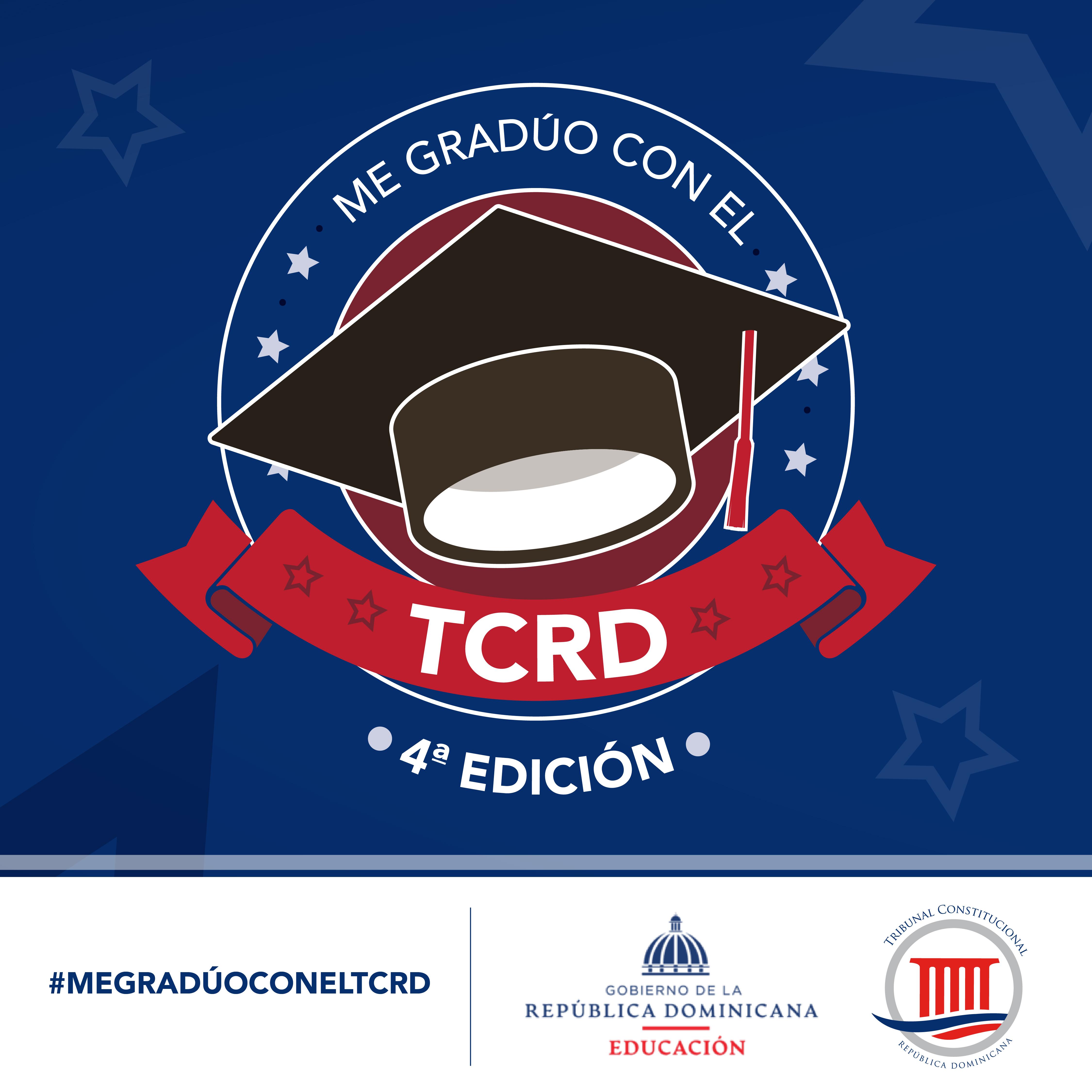 """Imagen de 4ta. Edición del concurso """"Me Gradúo con el TCRD"""""""
