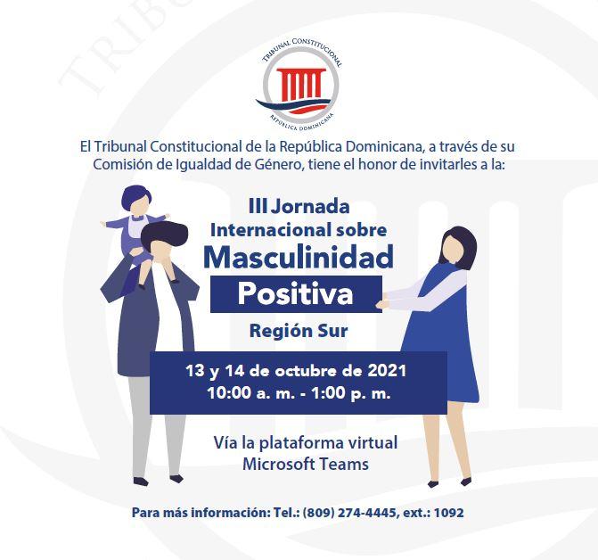 Imagen de III Jornada Internacional de Masculinidad Positiva